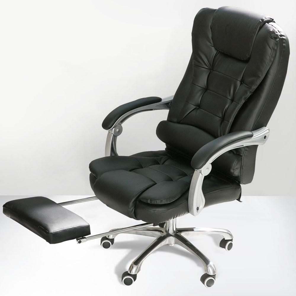 【IDEA】Caesar 高背經典皮格柔韌坐墊主管椅/商務辦公椅