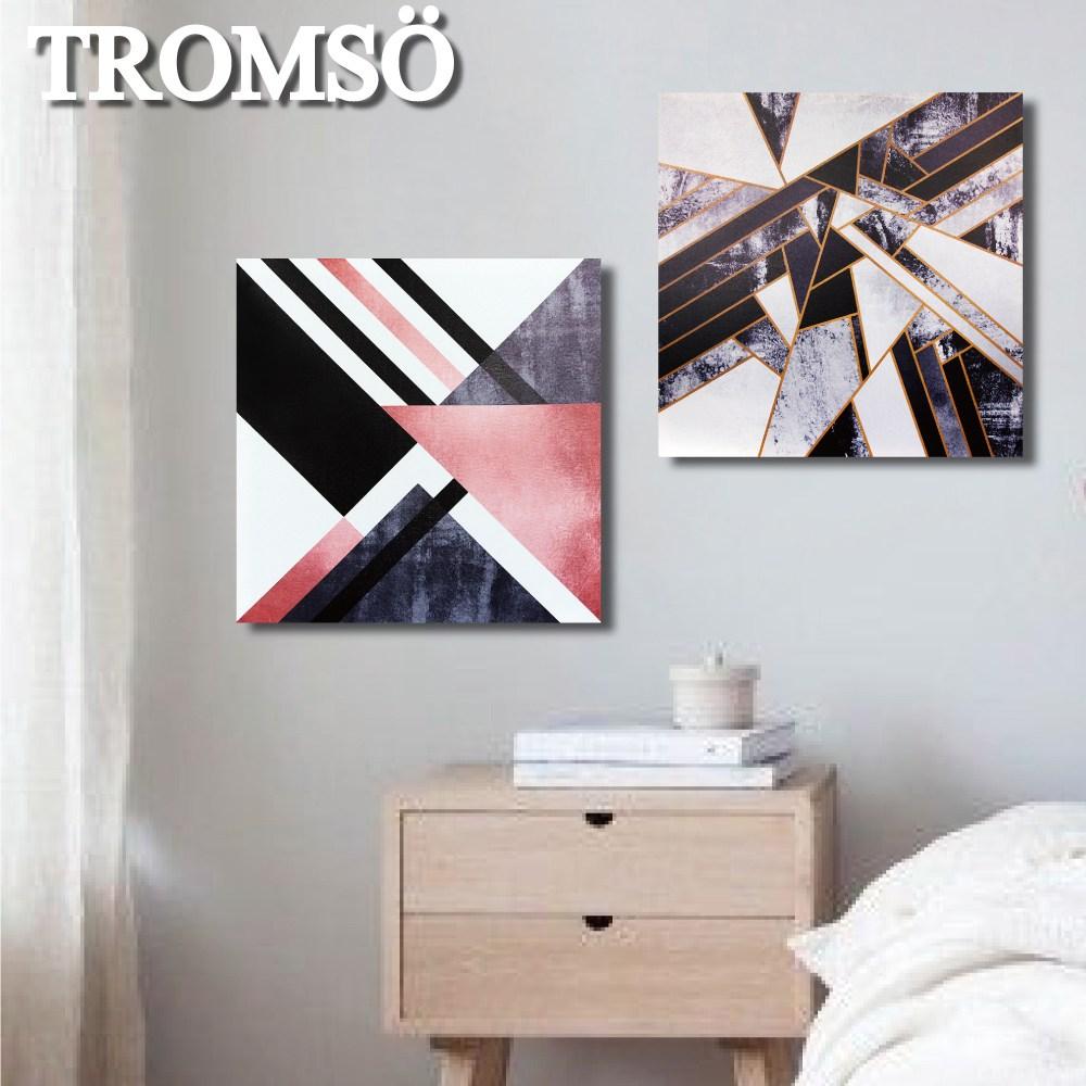 TROMSO時尚無框畫(兩入組)/靈感大理石