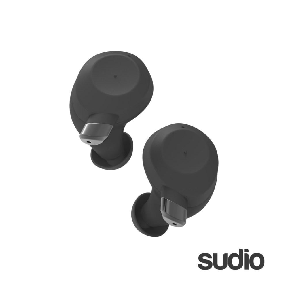【Sudio】瑞典設計 真 無線藍牙耳機(Fem/ 黑)