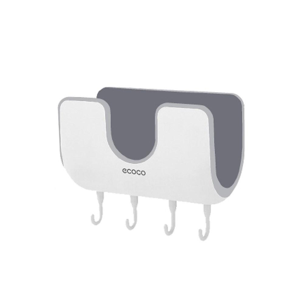 Ecoco無痕貼壁掛式鍋蓋架