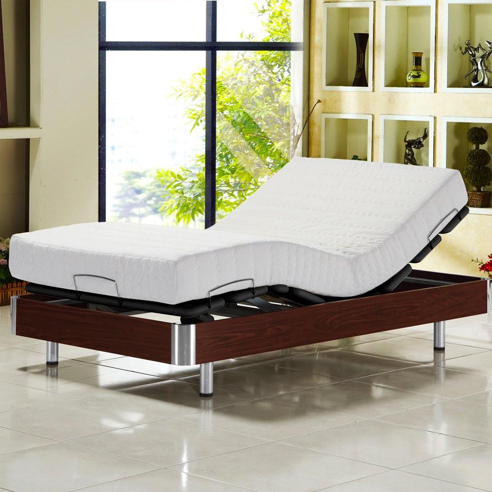 【睡芝寶】線控 五星級居家歐式電動床組(床墊-正面軟反面硬免煩惱)單人-3.3尺寬