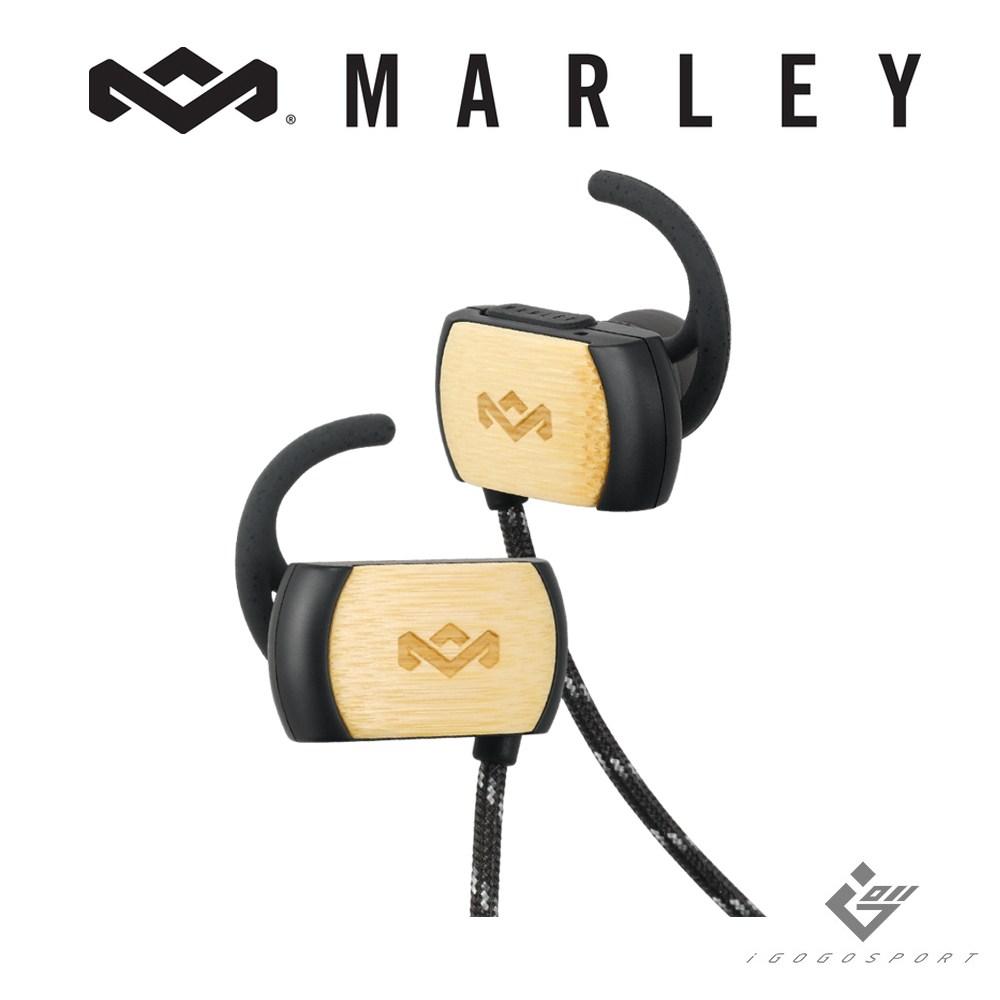 Marley Voyage 無線藍牙運動耳機 - 經典黑