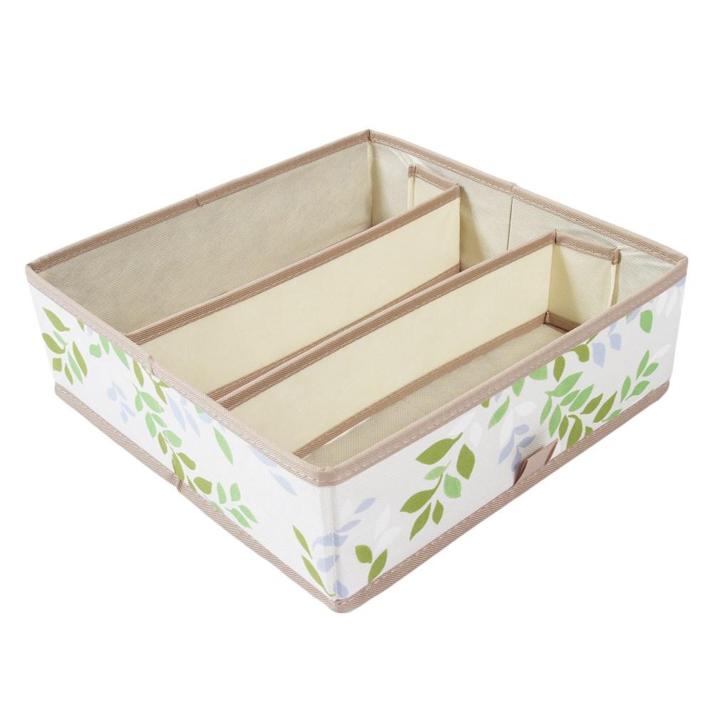 蜜莉三格抽屜盒 28.5x28.5x9.3cm