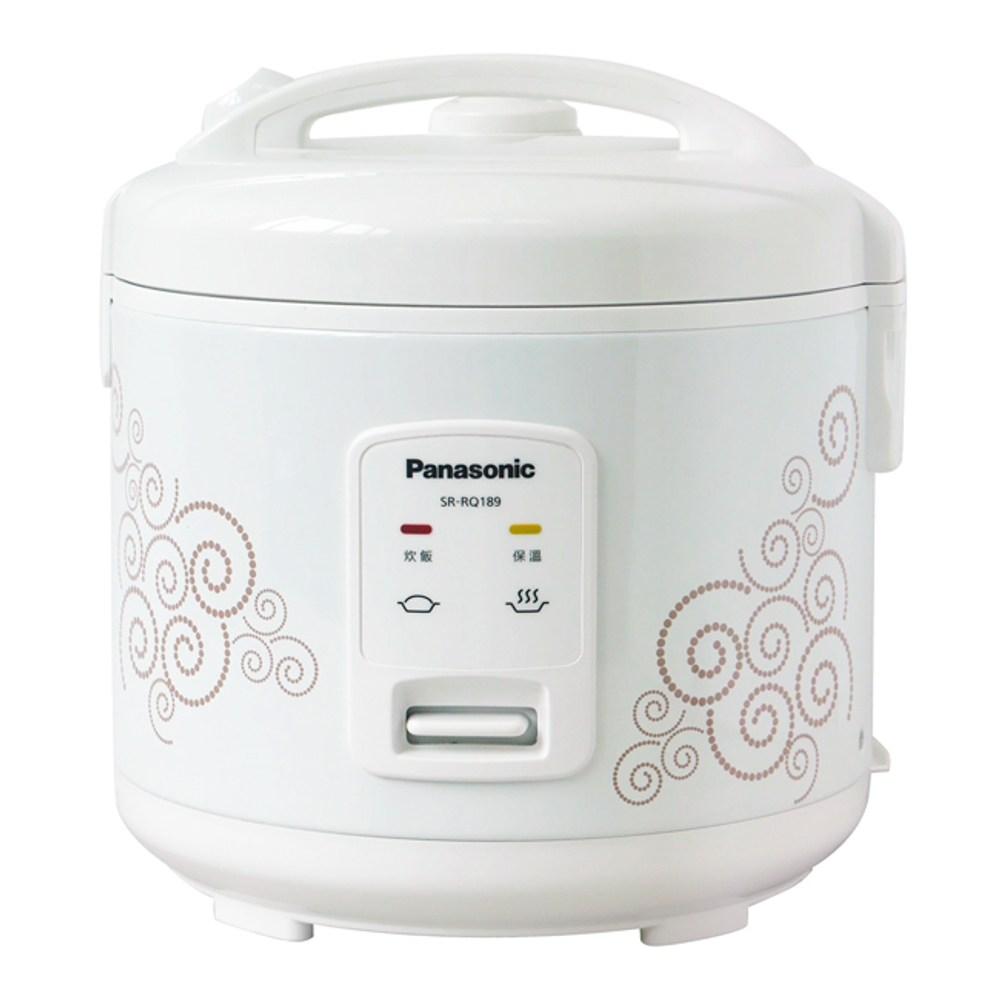 【Panasonic國際牌】10人份機械式電子鍋 SR-RQ189
