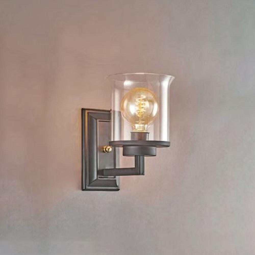 【PW居家燈飾】 現代風造型壁燈 干邑玻璃 小 11974