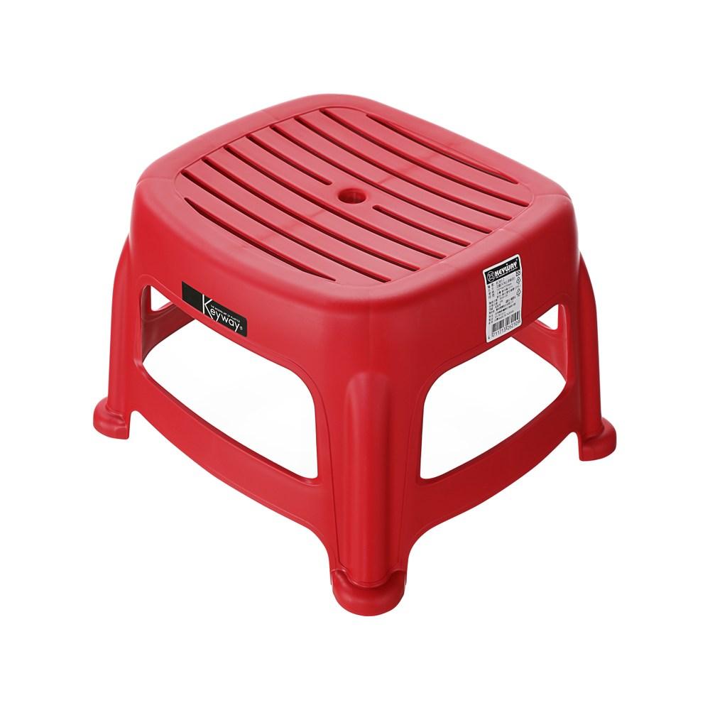 花園25CM止滑椅(紅)