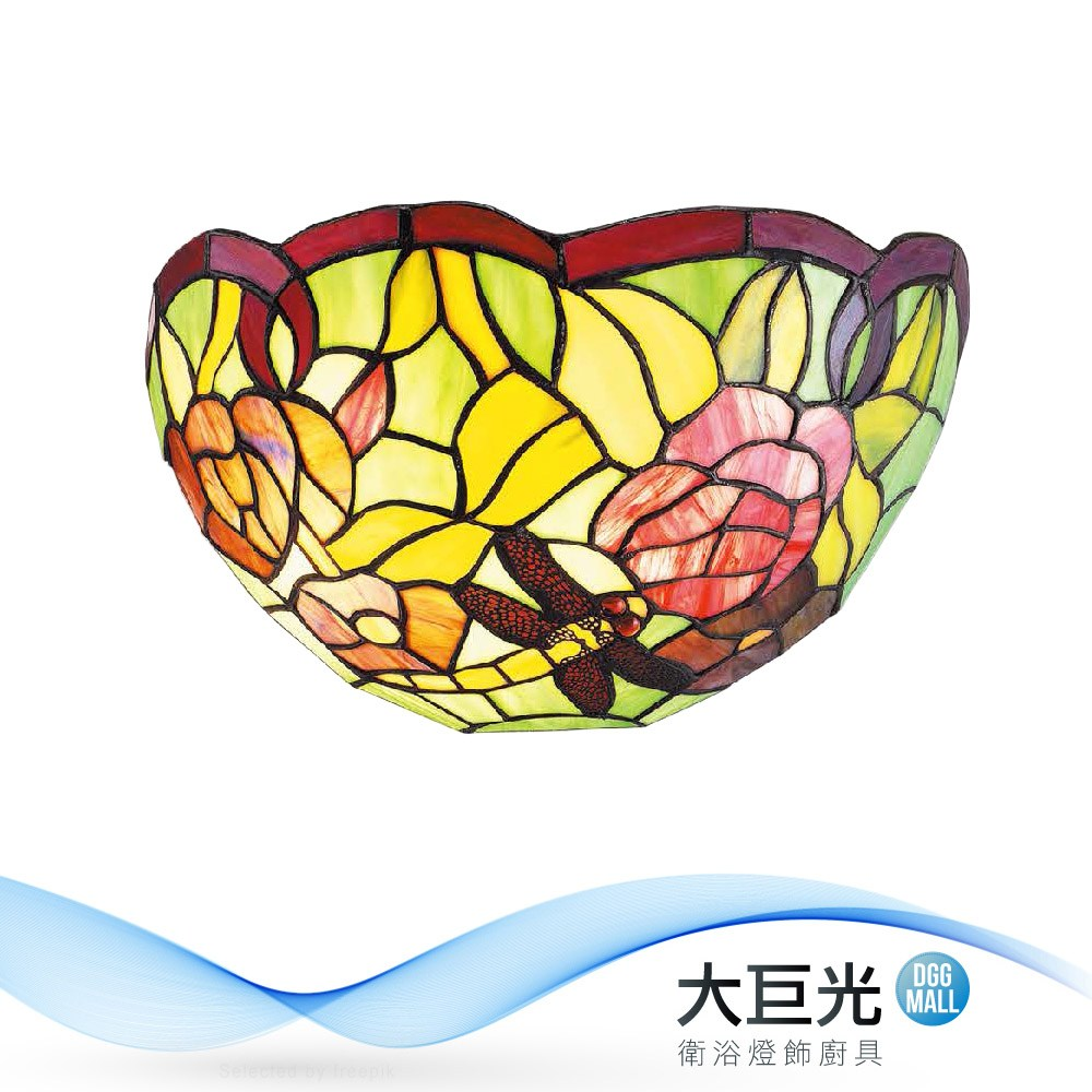 【大巨光】典雅風-E27-1燈壁燈(ME-0855)