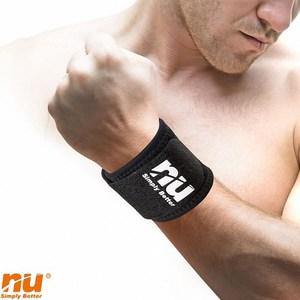 【海夫健康生活館】NU恩悠數位 鈦鍺能量 冰紗護腕束帶