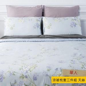 HOLA 杜蘭木棉絲涼被枕套三件組