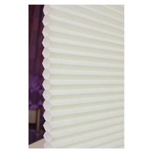 時尚米白半透光蜂巢簾150x185cm