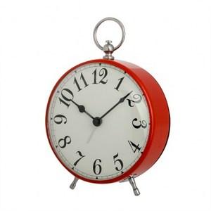 夢遊仙境懷錶造型鬧鐘 混色