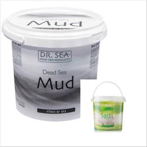 DR.SEA以色列死海礦物泥(1500g)*1+茉莉花精油沐浴鹽*1