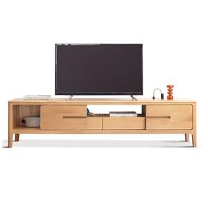 源氏木語西雅圖橡木滑門2.0M儲物電視櫃 Y90N03