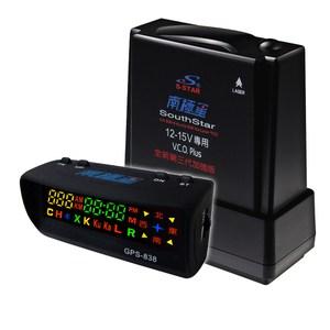 南極星 GPS-838 分離式測速器