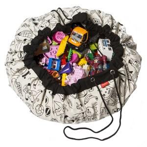 Play & Go玩具整理袋 - 藝術家聯名款 - 趣味塗鴉