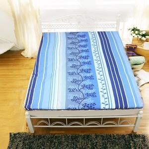 【KOTAS】仿藤椰絲冬夏透氣兩用床墊-(單人)~藍色