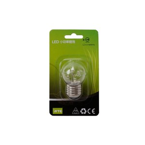 WTC LED E27 0.5W 專利球型燈泡 清光