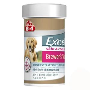 8in1 美國 Excel啤酒酵母大蒜精 140錠 X 1罐