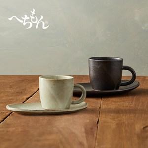 【有種創意】丸伊信樂燒 - 白夜咖啡對杯組 (4件式)