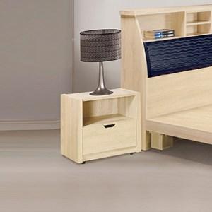 【YFS】凱撒原切橡木床頭櫃-50.5x40x48.5cm