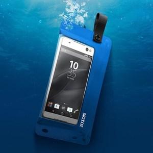 Skitoz 鋼鐵極限防水袋 6吋以下手機使用 台灣製造 藍色