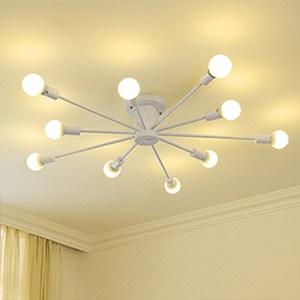HONEY COMB 工業風高工藝吸頂燈 雙色款 10光源 白色 TA8018