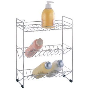 三層沐浴瓶罐架