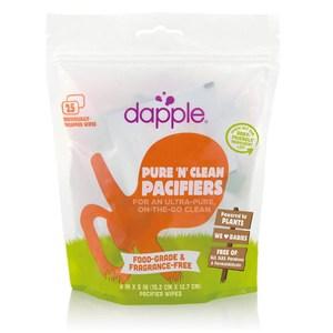美國Dapple  奶嘴濕紙巾-25片