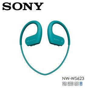 SONY 防水無線運動隨身聽 NW-WS623 藍
