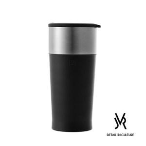 JVR 韓國原裝 MARTIN不鏽鋼馬丁隨行杯350ml-共3色黑色