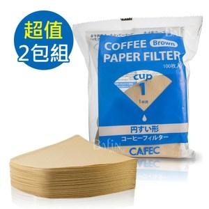 【日本 三洋】1人份無漂白錐型濾紙200張(CC1-100B)