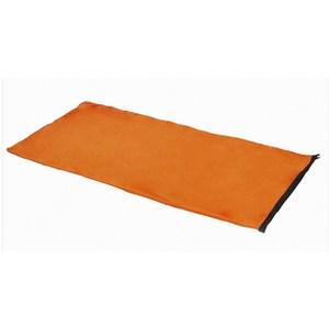 PUSH!戶外休閒用品抓絨睡袋露營睡袋內膽四季睡袋P121橙色