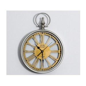 美式復古發光靜音掛鐘/鐘錶-B