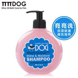 【綠機花園】光澤保濕-拍拍狗橄欖油氧亮亮洗毛420ml