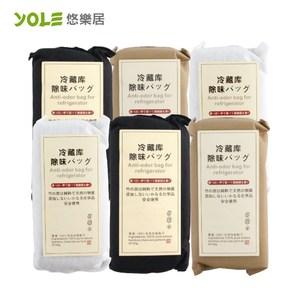 【YOLE悠樂居】冷藏庫天然竹炭包150g(6入組)
