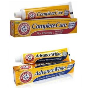 美國ArmHammer全效護理牙膏/亮白2款(170g)*6
