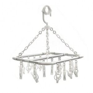 方型鋁合金吊巾架 16夾