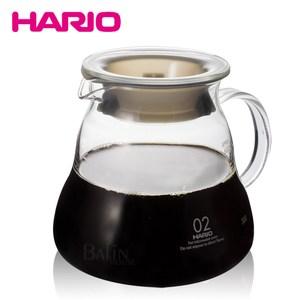 【日本 HARIO】V60雲朵耐熱微波咖啡壺600ml(XGT-60T