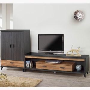 【obis】雷諾8.5尺L型櫃(雷諾 8.5尺 L型櫃 電視櫃)