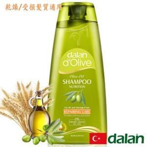 【土耳其dalan】橄欖油小麥蛋白修護洗髮露(乾燥/受損髮質)-即期品至2021.07