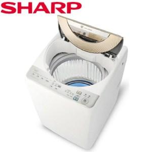 【SHARP 夏普】10kg 無孔槽變頻洗衣機 ES-ASD10T