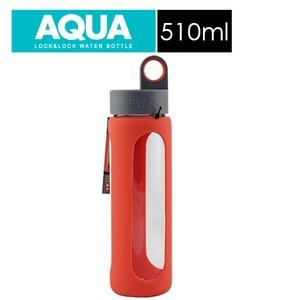 樂扣樂扣矽膠造型耐熱玻璃水壺/I型/510ML/紅色