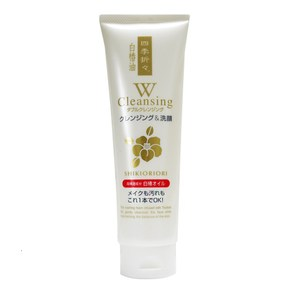 日本白椿油卸妝潔顏洗面乳190g*3入