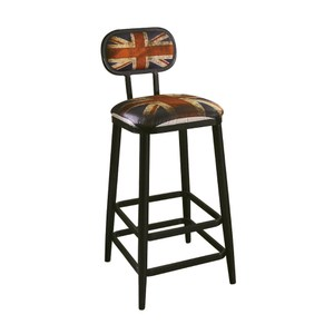 英國米字旗吧台椅