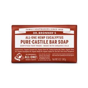 DR.BRONNER'S【布朗博士】有機尤加利淨化潔顏皂5oz/140g