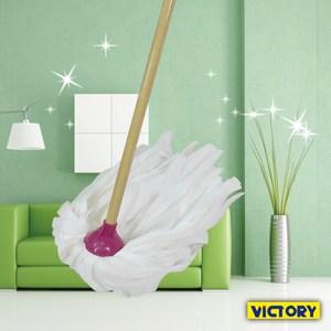 【VICTORY】易潔吸水布圓型拖把 #1025041
