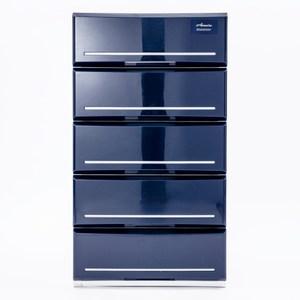 日本 SHINWA 五層收納櫃 寬52公分 藍色