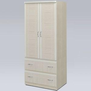 【Homelike】凱葛2.7x6尺衣櫃(雪松色)