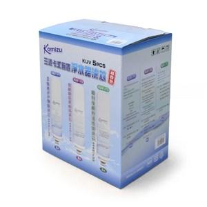 KOMIZU卡式前置淨水器濾心組 5支 半年份
