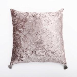 HOLA 薇拉素色抱枕 45x45cm 冰絨棕
